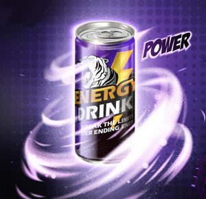 can of an energy drink